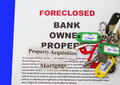 Foreclosure Notice Royalty Free Stock Photo