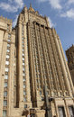 The foreign ministry moscow building one of stalin s seven sisters skyscrapers in Stock Photos
