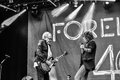 Foreigner live in Hellfest 2016 Royalty Free Stock Photo