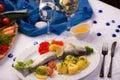 Forelle blau Royalty Free Stock Photo