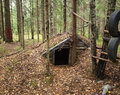 Forest dwelling Royalty Free Stock Images