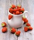 Forest strawberries Imagem de Stock