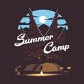 Forest summer camp