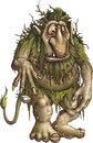 Forest Troll Stock Images