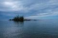 Island in Lake Superior Provincial Park, Ontario, Canada Royalty Free Stock Photo