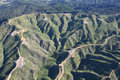 Forestry Slopes from the Air Stock Images