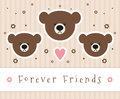 Forever Friends Royalty Free Stock Photo