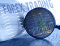 Forex Trading Concept Royalty Free Stock Photo