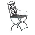 Forged chair Royalty Free Stock Image