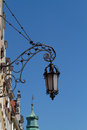 Forged street lamp Royalty Free Stock Photo
