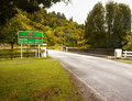 Forgotten World Highway, New Zealand Royalty Free Stock Photo