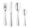 Fork, knife and spoon Royalty Free Stock Image