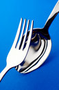 Fork and spoon Stock Photography