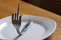 Fork You Expression Royalty Free Stock Photo