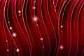 Form dark red lines glow items Royalty Free Stock Photo