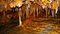 Formaciones de roca de la cueva Foto de archivo libre de regalías