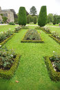 Formal garden Stock Photography