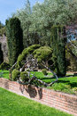 Formal garden california perspective Stock Images