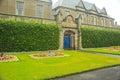 Formal Garden, University of St. Andrews, St.Andrews, Uk. Royalty Free Stock Photo