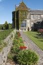 Formal garden wall at Muckross House and Estate near Killarney Royalty Free Stock Photo