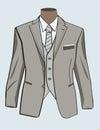 Formal suit for men