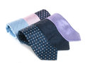 Formal ties variety of multicolored Stock Images