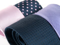 Formal ties variety of multicolored Stock Image