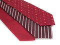 Formal ties variety of multicolored Stock Photos