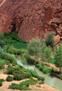 Formations in Dades Valley Stock Image