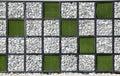 Formato moderno da pedra wall.different. Imagem de Stock Royalty Free