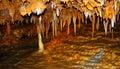 Formazioni rocciose della caverna Fotografia Stock Libera da Diritti