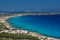 Formentera Coast and Beaches Royalty Free Stock Photo