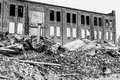 Former Automotive Warehouse Demolition. Old Rust Belt Factories Make Way for New Construction IV Royalty Free Stock Photo