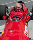 Former Ferrari F1 driver, Chris Amon Stock Photography