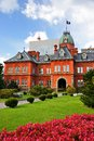 Former hokkaido government office in sapporo japan Royalty Free Stock Photography