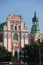 Former Jesuit College & Parish Church. Poznan. Poland Royalty Free Stock Photo