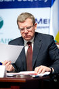 Former minister of finance Kudrin Stock Image