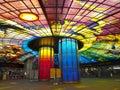 Formosa Boulevard Station, Taiwan. Royalty Free Stock Photo