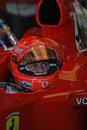Formula 1 2005 season, Michael Schumacher Royalty Free Stock Photo