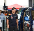 Formula 1, GP Malaysia, Sepang.Mark Webber Royalty Free Stock Photography