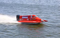 Formula 1 H2O Powerboat GrandPrix Royalty Free Stock Photos