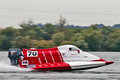 Formula 4 powerboat Stock Photos