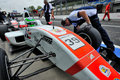 Formula Abarth in Monza race track Royalty Free Stock Photo