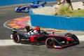 Formula e nick heidfeld venturi team Royalty Free Stock Photo