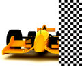 Formula One Car005 Royalty Free Stock Photos