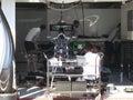 Formula One McLaren Mercedes race car  - F1 Photos Royalty Free Stock Photo