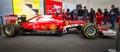 Formula One racing car Ferrari SF15-T, 2015. Royalty Free Stock Photo