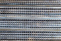 Formwork mesh for concrete formwork Royalty Free Stock Photo