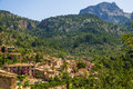 Fornalutx village on majorca a mountainous municipality and mallorca one of the balearic islands in spain Stock Photo