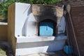 Forno greco del villaggio Immagini Stock Libere da Diritti